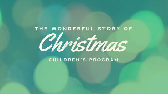 Kids at the Ridge Christmas Program