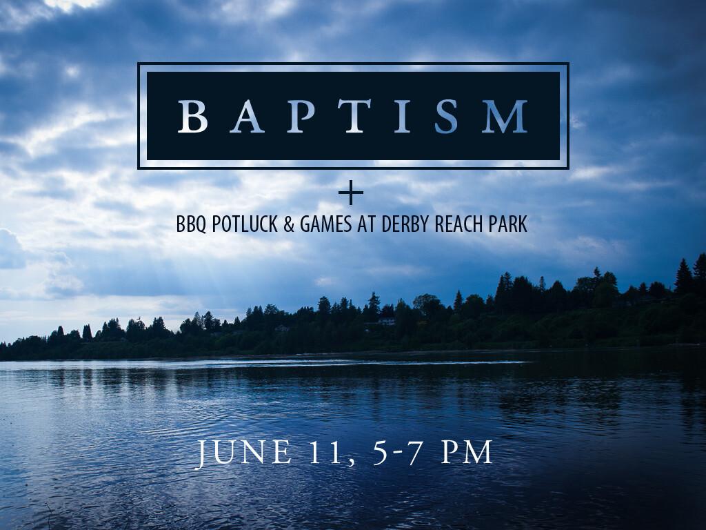 Baptism & BBQ