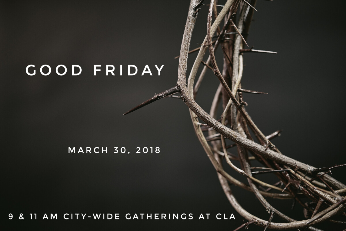Good Friday City-wide Gatherings