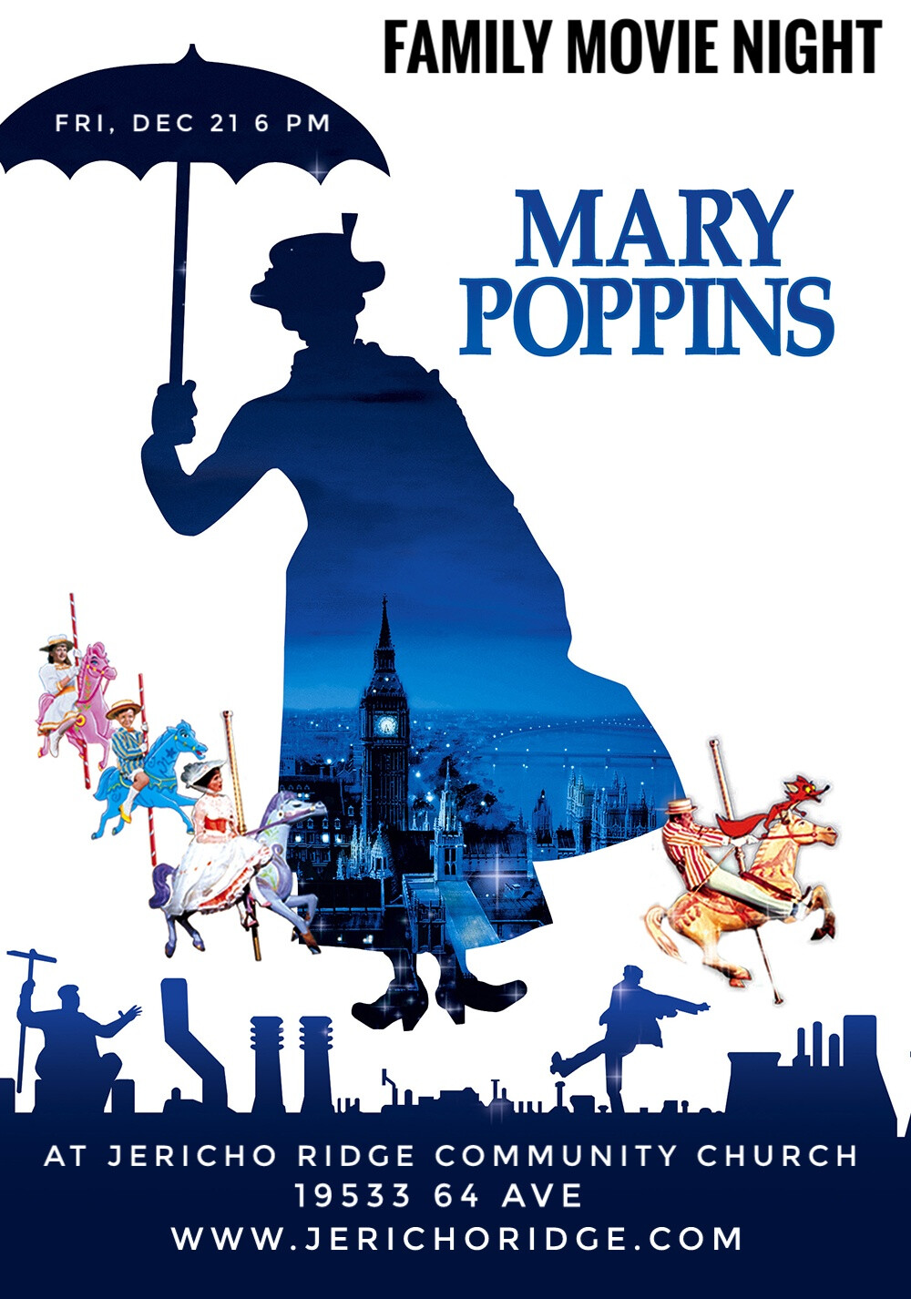 Family Move Night: Mary Poppins