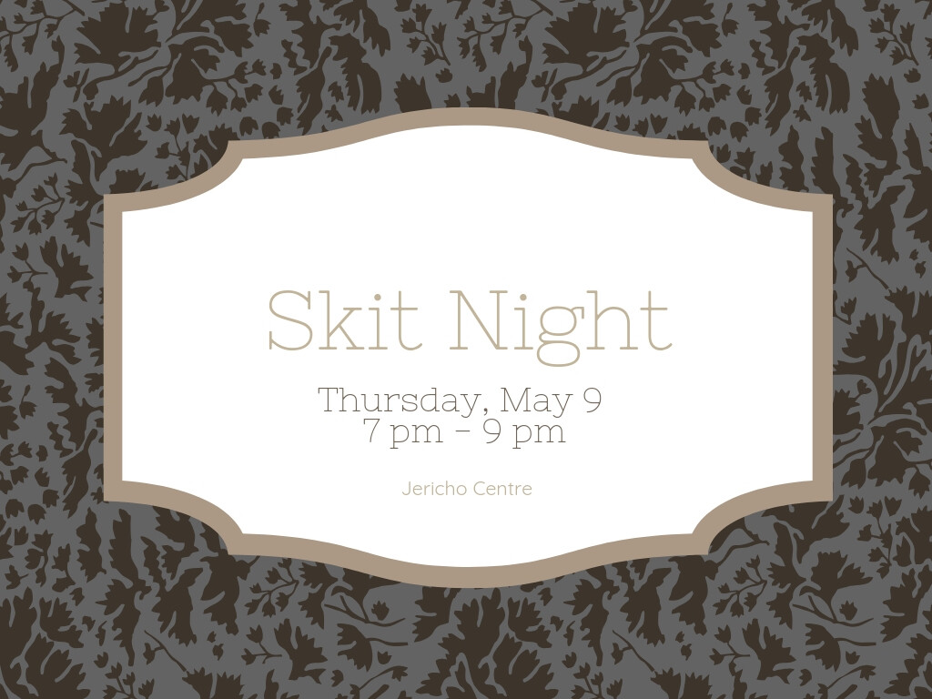Youth: Skit Night