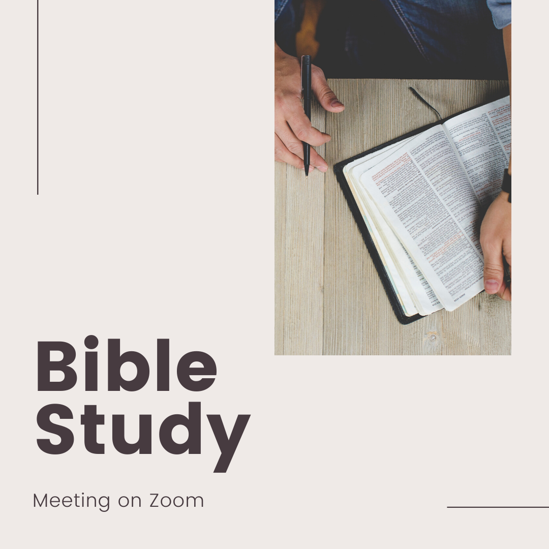 Youth: Zoom Bible Study